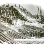 CONSTRUCTION DE LA 3EME CASEMATE TYPE R683 - MAI 1944